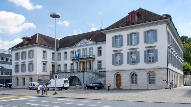 Das Regierungsgebäude in Aarau.