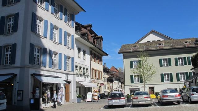 Die Altstadt von Zofingen