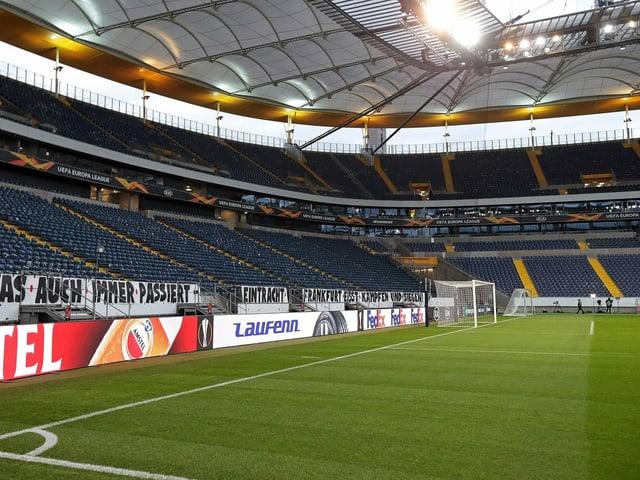 Das Stadion in Frankfurt.