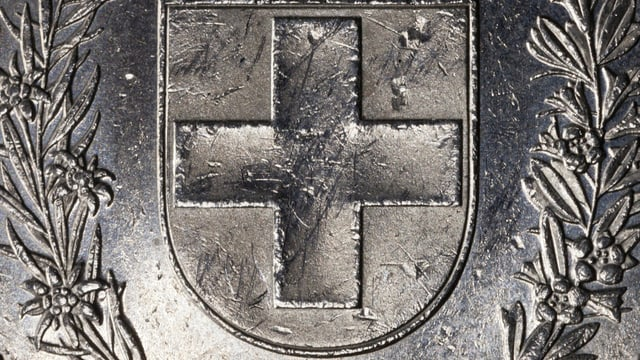 Ein Fünf-Franken-Stück