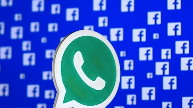 Logo Whatsapp und Facebook