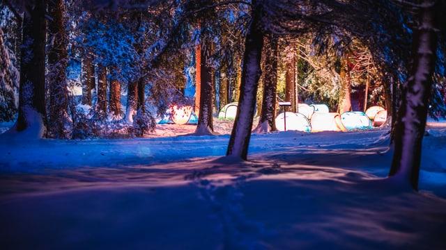 Il vitget da tendas è vegnì transferì en l'hotel Schweizerhof a Lai.