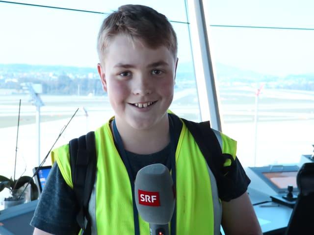 Kinderreporter «Rega205» hat für dich den Flughafen Zürich besucht.