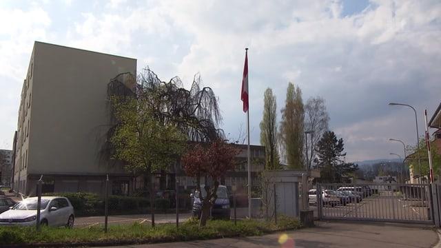 Ansicht des Asylzentrums in Lyss.