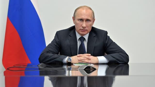 Il president russ Wladimir Putin discurra.