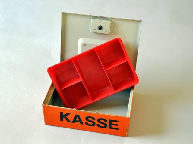 Leere Kasse.