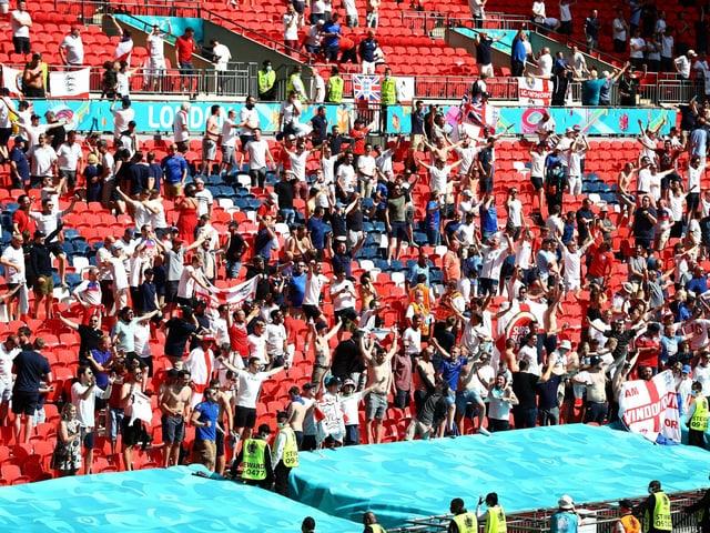 Das Wembley-Stadion in London.
