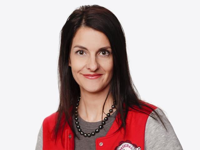 Ursula Schubiger, Produzentin bei SRF3. Sie vertritt in der Jury die SRF 3 Hörer und Hörerinnen.