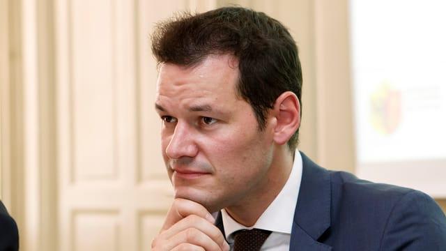 Purtret Pierre Maudet