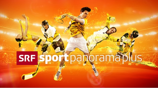 Das Logo der neuen Sendung «sportpanorama plus»