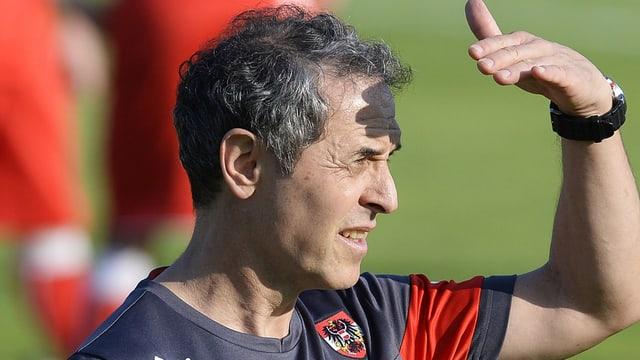 Österreich-Trainer Marcel Koller blickt in die Weite.