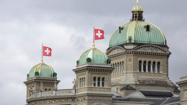 La cupla da la Chasa federala a Berna.