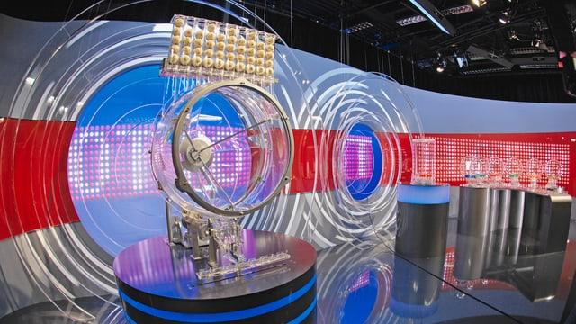 Schweizer Lotto-Studio.