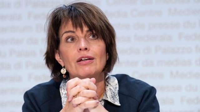 Energieministerin Doris Leuthard