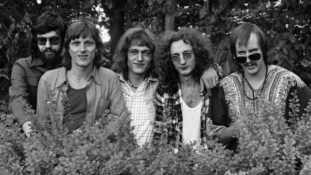 Die Band «Rumpelstilz» in den 70er-Jahren.