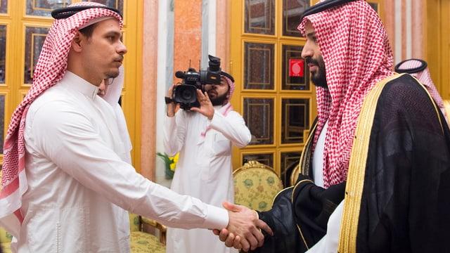 Salah Khashoggi cun prinzi ereditar Mohammed bin Salman.