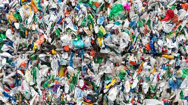 Recycling von Flaschen