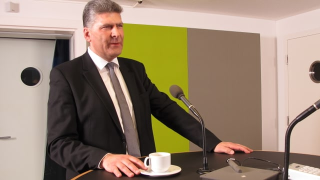 Der Präsident der St. Galler Gemeindepräsidenten, Boris Tschirky.