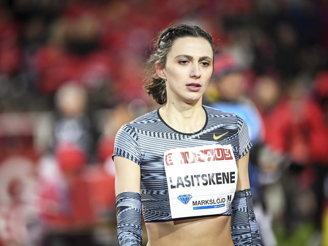 die russische Hochspringerin Marija Lasitskene.