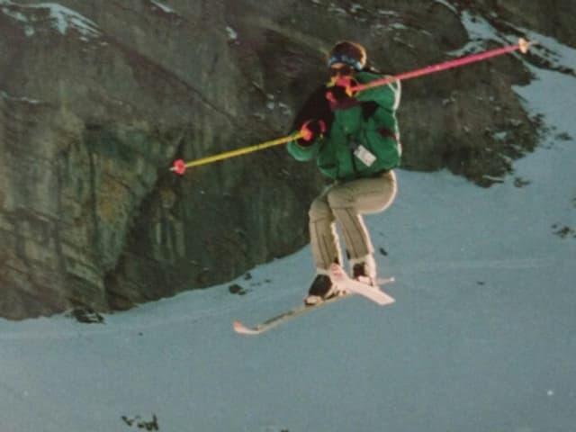 Sprung im Skilager