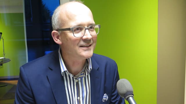 Guido Bucher, Direktor des Kinderspitals Ostschweiz.