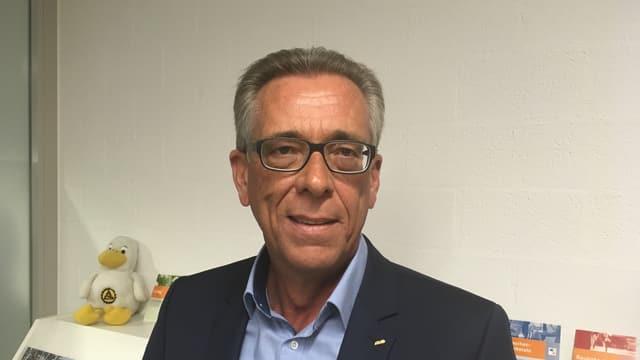 Roland Jäggi, president da l'ASTAG Grischun vegn ad esser responsabel per la scolaziun nova dals accumpagnaders da transports grevs.