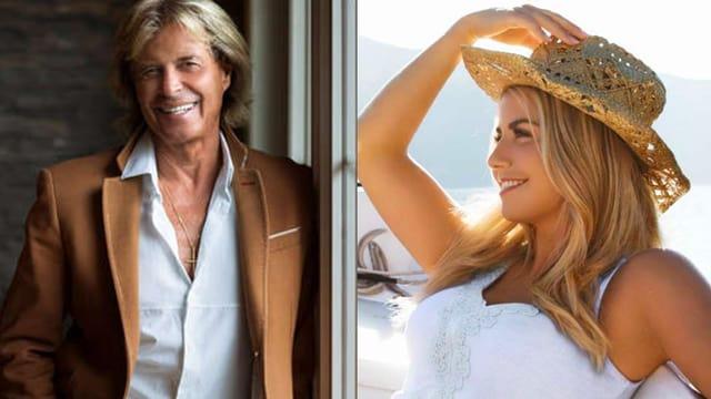 Bildcollage mit Fotos von einem Sänger und einer Sängerin.