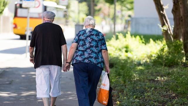 Sichere Renten im Alter.