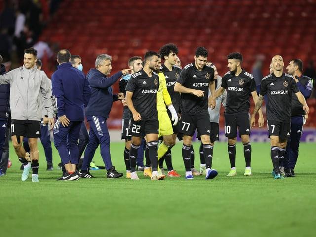 Die Mannschaft von Karabach