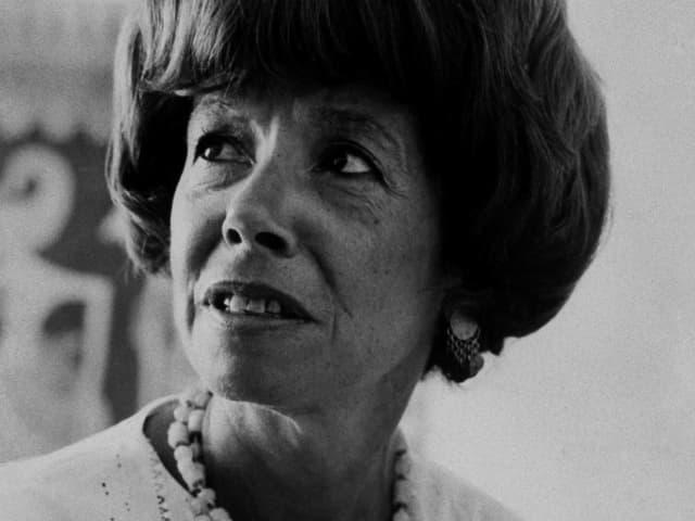 Ein Porträt von Autorin Jane Bowles.