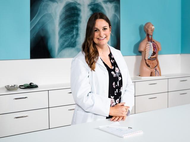 Dr. med. Anja Evangelisti.