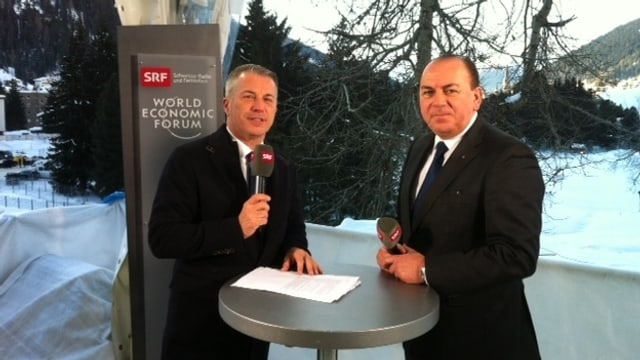 Reto Lipp und Axel Weber