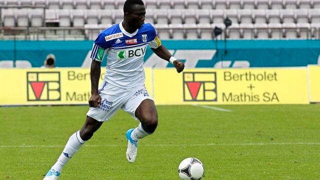 Für Lausanne traf er in 31 Partien 2 Mal.