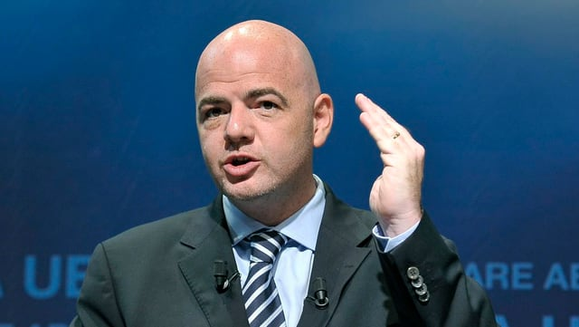 Uncaf will Infantino