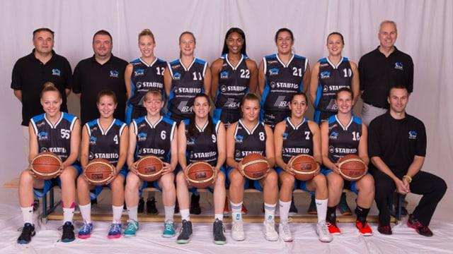 Teamfoto der Basketballerinnen
