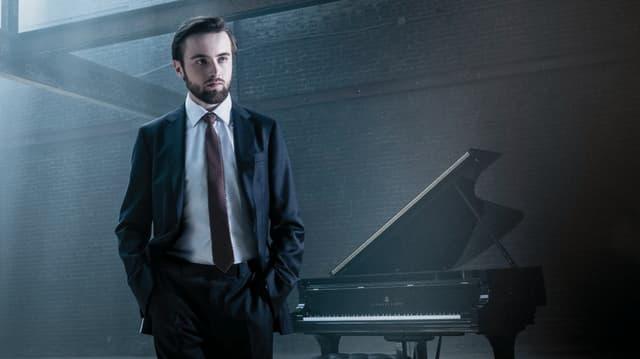 Der junge russische Pianist Daniil Trifonov .