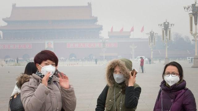 Auch Chinas Tourismus leidet