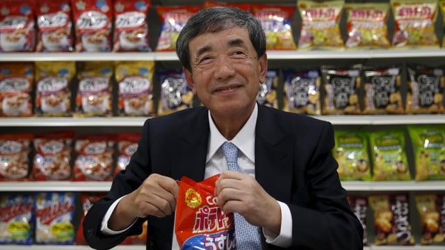 Akira Matsumoto, CEO von Calbee