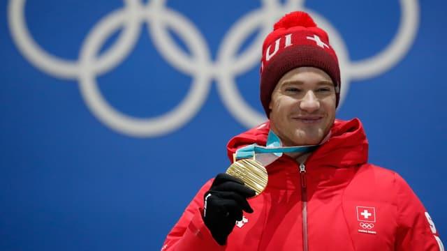 Cologna und seine Goldmedaille.