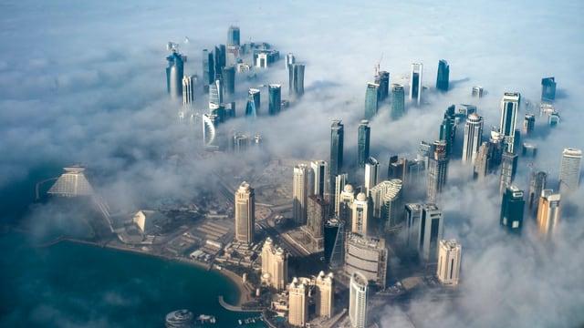 La skyline da la chapitala Doha.