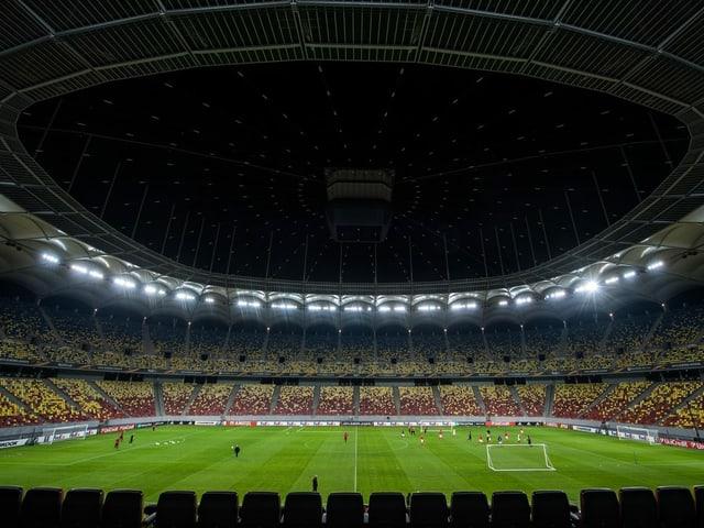 Arena Nationala in Bukarest.