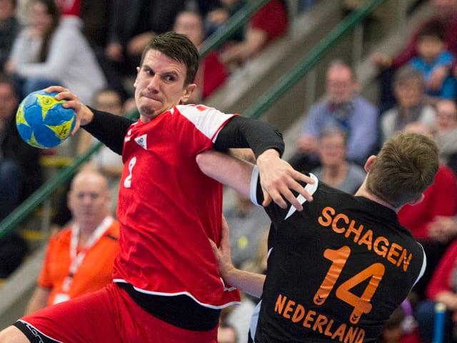 Andy Schmid wird künftig wieder für die Schweiz auflaufen.