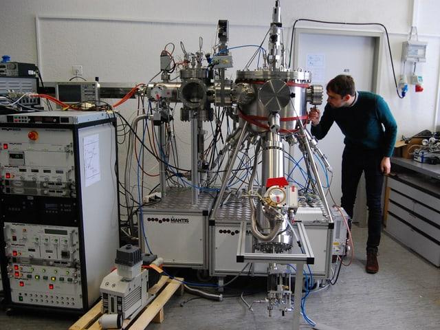 Eines der Forschungslabors der Empa in Thun.