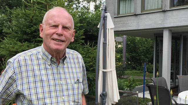 Willi Hochuli, ehemaliger Gemeindeammann von Kölliken.