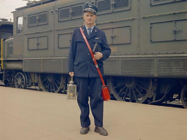 Foto eines Zugführers.