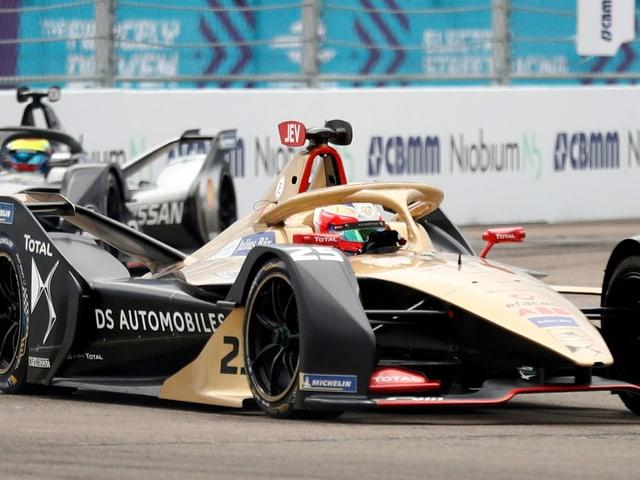Ein Formel-E-Auto.