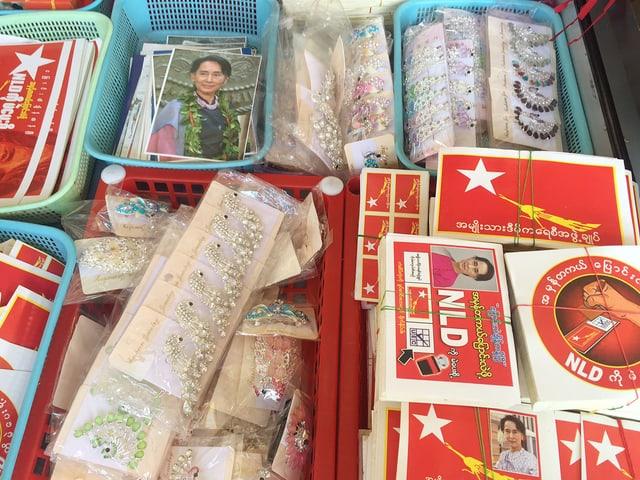Parteizentrale der NLD in Burma
