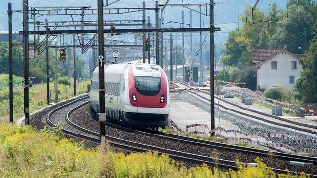 Ein Zug der SBB