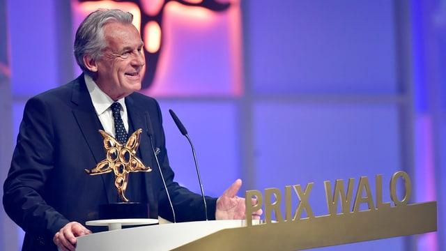 Pepe Lienhard mit Prix Walo