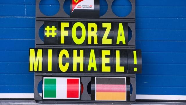 Formel 1-Schild